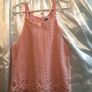 blouse peach color